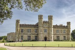Leeds Castle em kent Inglaterra imagem de stock