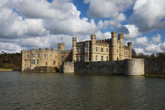Leeds Castle en Angleterre Photos libres de droits