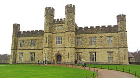 Leeds Castle, England. View of Leeds Castle in the United Kingdom Royalty Free Stock Image
