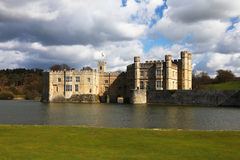 Leeds Castle in England Stock Image