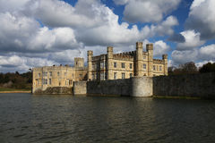 Leeds Castle in England. Leeds Castle in Kent, England Royalty Free Stock Images