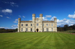 Leeds Castle in England Stock Photos