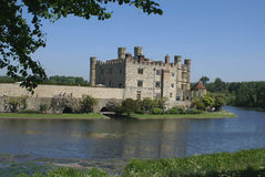 Leeds Castle in England Royalty Free Stock Photo