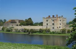 Leeds Castle in England Stock Photography