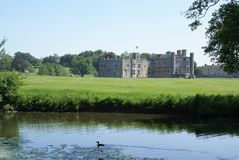 Leeds Castle in England Stock Images