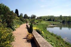 Leeds castle garden in England Royalty Free Stock Image