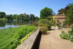 Leeds castle garden in England Royalty Free Stock Photography