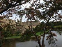 Leeds Castle i Kent United Kingdom Fotografering för Bildbyråer