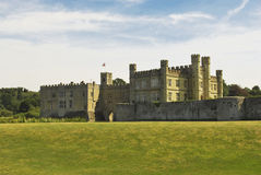 Leeds Castle, Kent, England. A beautiful view of leeds castle in England Stock Photos