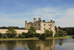 Leeds Castle, Kent, England. A beautiful view of leeds castle in England Stock Image