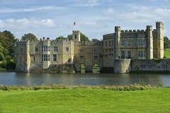Leeds Castle Kent England. Arkivbilder