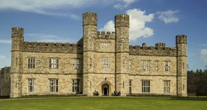 Leeds castle. In Kent, England Stock Photos