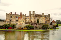Leeds Castle in Kent, UK. Stock Photos
