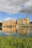 Leeds Castle and lake Stock Image