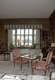Leeds Castle Living Room. The Living Room at Leeds Castle in Kent England stock photography