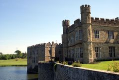 Leeds Castle in Maidstone, Kent, England, Europe Royalty Free Stock Photography
