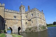 Leeds Castle in Maidstone, Kent, England, Europe Stock Images