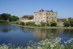 Leeds Castle in Maidstone, Kent, England, Europe Stock Photography