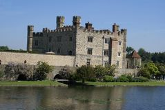 Leeds castle in Maidstone, Kent, England Royalty Free Stock Photos