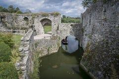 Leeds Castle Moat, Kent, UK Stock Photos