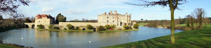 Leeds Castle panorámico Foto de archivo libre de regalías