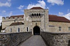 Leeds Castle - porthus arkivfoto