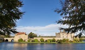 Leeds Castle. On river Len, United kingdom Stock Photos