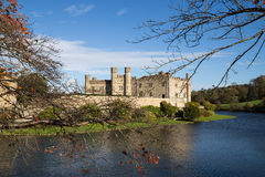 Leeds Castle. On river Len, United kingdom Royalty Free Stock Photography
