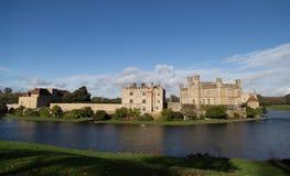 Leeds Castle. On river Len, United kingdom Royalty Free Stock Images