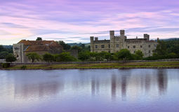 Leeds Castle at Sunrise Royalty Free Stock Photos