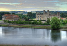 Leeds Castle at Sunrise Royalty Free Stock Photography