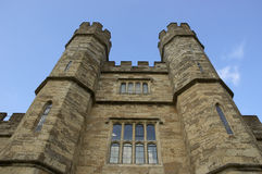 Leeds Castle Turrets Royalty Free Stock Photo