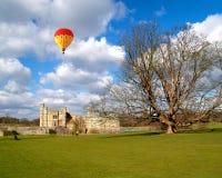 The leeds castle under sunny sky Stock Photo