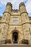 Leeds- Castleeingang, Kent, Vereinigtes Königreich stockfotografie