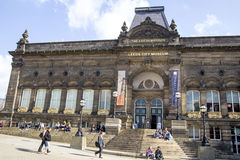 Leeds City Museum. The front of Leeds City Museum at the former Leeds Institute royalty free stock images
