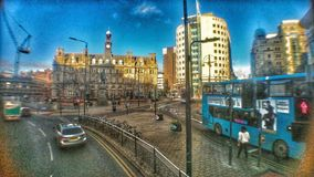 Leeds City Square. Leeds City Pic stock photos