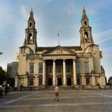 Leeds Civic Hall Stock Image