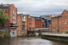 Leeds - der Aire Lizenzfreies Stockbild