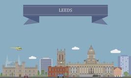 Leeds, England lizenzfreie abbildung