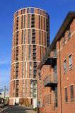 leeds för stearinljusgranaryhus västra hamnplats yorkshire Arkivfoto