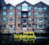 Leeds flodtur Royaltyfria Bilder