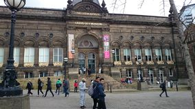 Leeds Großbritannien Stockfotografie