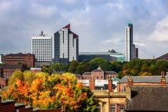 Leeds horisont arkivbild