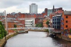 Leeds - le chiamate fotografia stock