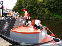 The Leeds Liverpool Canal Festival at Burnley Lancashire Royalty Free Stock Images