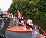 The Leeds Liverpool Canal Festival at Burnley Lancashire Stock Photos