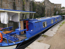 The Leeds Liverpool Canal Festival at Burnley Lancashire Royalty Free Stock Photography