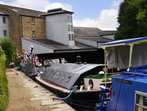 The Leeds Liverpool Canal Festival at Burnley Lancashire Stock Photo