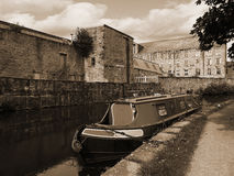 The Leeds Liverpool Canal Festival at Burnley Lancashire Stock Image
