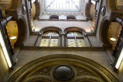 Leeds miasta biblioteka zdjęcie royalty free
